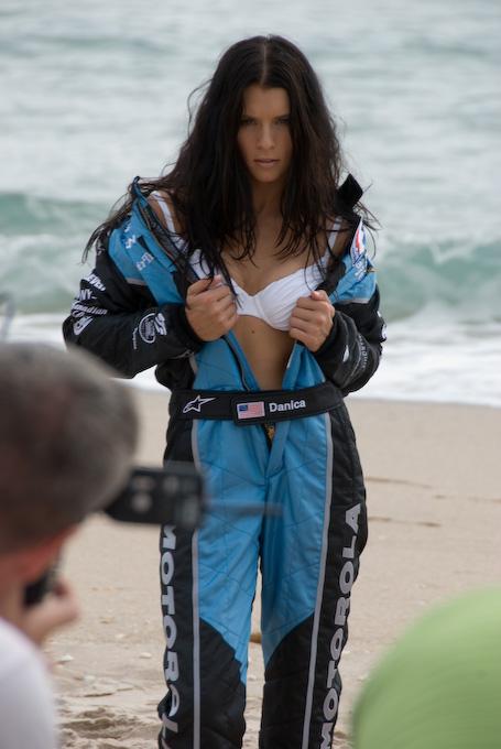 danica patrick swimsuit 2008. Car driver Danica Patrick