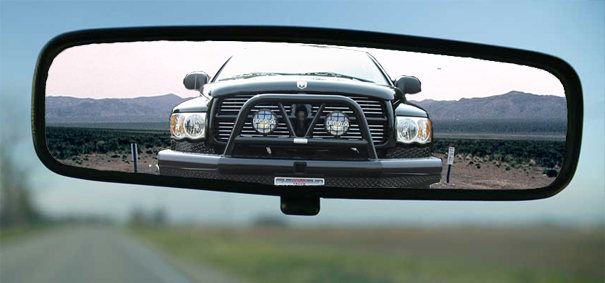 Objects In Mirror May Be Closer Than TheyAppear