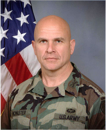 Colonel H.R. McMaster, now a BG!