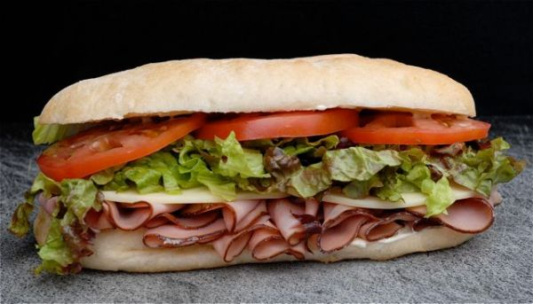Death by sandwich..