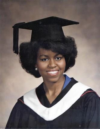 Michelle Obama, Princeton Graduate