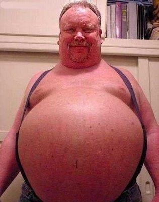 Fat british guy