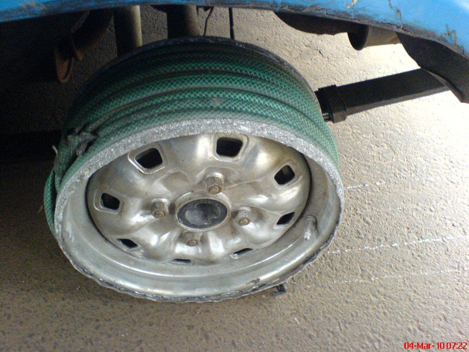 Как сделать колеса низкого давления своими руками, диски 69