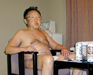Kim Jong Il wishes he had air conditioning