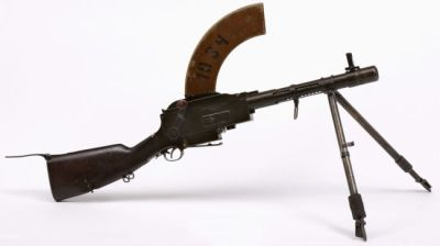 the Madsen Machine gun (short barreled)